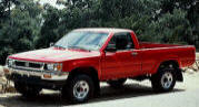 1992 Toyota Pickup DLX 4WD regular cab
